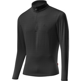 Löffler Basic CF Transtex Sweat-shirt Zip avec col montant Homme, black